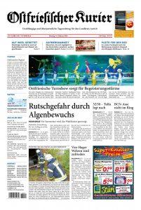 Zeitungsartikel: Ostfriesische Turnshow sorgt für Begeisterungsstürme